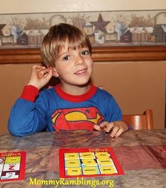 Even SUPERMAN needs to practice sight words! Via @Carolyn Matri Kavarnos-Mommy Ramblings