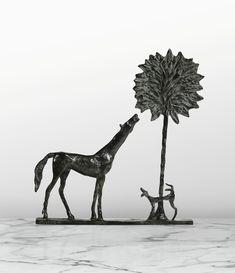 Diego Giacometti, La promenade des amis, 1984