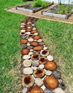 11 pictures of crazy cool uses for tree stumps, outdoor furniture, outdoor living, repurposing upcycling, woodworking projects, Photo via Katie and John Sew Woodsy