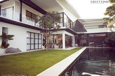 Lindy Klim's Balinese home