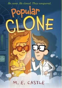 Popular Clone: The Clone Chronicles by M. Castle Twelve-year-old Fisher Bas, a science-loving bully magnet, clones himself, only to discover that his double is infinitely cooler than himself. New Children's Books, Great Books, Books For Boys, Childrens Books, Guys Read, Aleta, Character Education, Reading Levels, Children's Literature