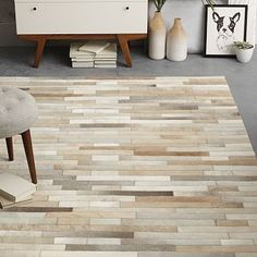 Cheap cowhide leather, Buy Quality cowhide split directly from China cowhide furniture Suppliers: Hand Patched Cowhide In Mixed Neutral Shades Hand-guided Patchwork Rug Furniture Sale, Modern Furniture, Cowhide Decor, Patchwork Rugs, Cow Hide Rug, Geometric Rug, Modern Area Rugs, Living Room Carpet, Contemporary Rugs