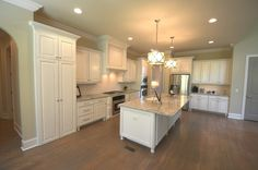 Beautiful granite counter tops, under counter lighting and stainless steel appliances