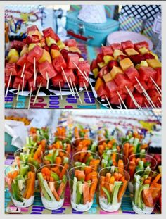 A great idea for your next get together. Simple healthy finger food. Yummo!!