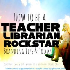 How to be a Teacher Librarian Rock StarYou can find Library skills and more on our website.How to be a Teacher Librarian Rock Star School Library Lessons, Library Lesson Plans, Middle School Libraries, Elementary School Library, Library Skills, Library Books, Elementary Library Decorations, School Library Decor, Classroom Libraries