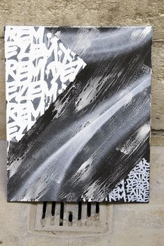 Franck Erase On 70x100cm Mouret 2014 Media Mathieu Canvas Mixed Balmoussière ff16rXxqRw