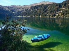 Transparent Lake, Montana, USA.