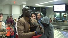 After 4 yrs Of Forced Separation Man Falls To His Knees At Reunion With Family. I'm In Tears!