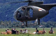 Vietnam Helicopter Pictures | Scout helicopter
