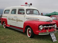 1951 Ford - Siebert Ambulance -