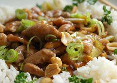 Kuřecí kung pao z letáku Albert recept - TopRecepty.cz Kung Pao Recept, Thing 1, Kung Pao Chicken, Food And Drink, Meat, Cooking, Ethnic Recipes, Vietnam, Asia