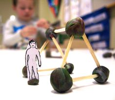 Opera Scenery Model. Model making with children.
