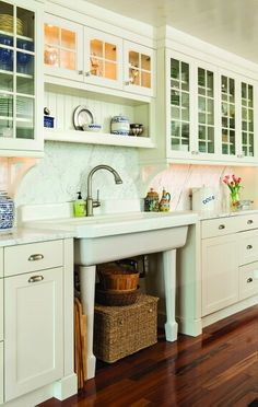 Amazing Custom Cottage Cabinets Remodel ! This is a dream Kitchen!