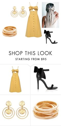 Yellow by holypotato on Polyvore featuring Sea, New York, Miss Selfridge and Kenneth Jay Lane