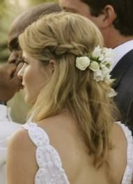 straight long wedding hair - Google Search