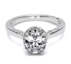 TACORI Style no: 2620OVMD....this ring just makes me smile! :) :) - Click image to find more hot Pinterest pins
