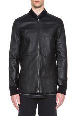 3.1 Phillip Lim Leather Shirt jacket