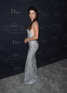 Jacqueline MacInnes Wood - 2017 Princess Grace Awards Gala in Beverly Hills - Jacqueline Macinnes Wood, Canadian Actresses, In Hollywood, Princesses, Awards, Dior, Singer, Formal Dresses, Beverly Hills