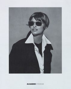 Linda Evangelista | Photography by Peter Lindbergh | For Jil Sander Campaign | Fall 1993