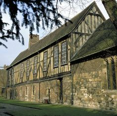 The Merchant Adventurer's Hall in York built between 1357 and 1367 is still the Guildhall for the Merchant Adventurer's Guild