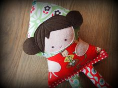 christmas doll by ImAGingerMonkey, via Flickr