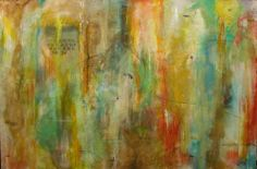 Catron Williams - Southern Breeze Gallery 4x6 Large Abstract Piece. Enchanted Forest.