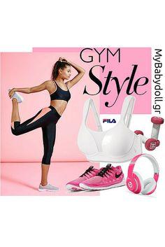My Babydoll Gym Style! Ώρα για γυμναστική με αθλητικά σουτιέν FILA Sportswear. Ειδικά κατασκευασμένα για μέτρια και έντονη άσκηση, με άψογη εφαρμογή και κράτημα την ώρα της άθλησης!  Σας άρεσε; Δείτε περισσότερα ΕΔΩ -> http://mybabydoll.gr/product-tag/%CE%B1%CE%B8%CE%BB%CE%B7%CF%84%CE%B9%CE%BA%CF%8C/