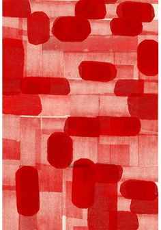 Red abstract pattern by Elisabeth Dunker