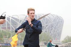 Gabriel Mann in China
