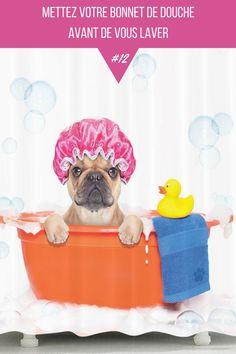 Avant de prendre votre douche, utiliser un deep conditioner (soin profond) pour vos cheveux.Mettez ensuite votre bonnet de douche et lavez votre corps avant de vous laver les cheveux.La vapeur liée à la douche va permettre une action plus profonde du deep conditioner.