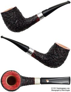 Rusticated Bent Billiard with Silver
