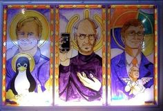 The Holy Trinity (2012) Linus Torvalds, Steve jobs and Bill Gates
