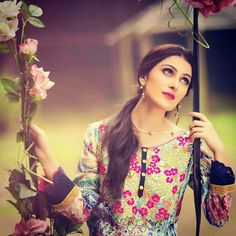Beautiful​ looks Ayza Khan Prettiest Actresses, Beautiful Actresses, Ayeza Khan, Pakistan Fashion, Girls Dpz, Pakistani Outfits, Muslim Women, Stylish Girl, Best Actress