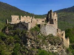 Château d'Usson - Ruined Medieval Cathar Castle in France