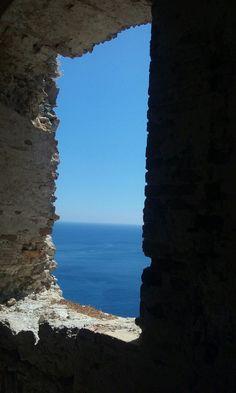 Finesta sul mare delle Tremiti