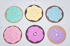 Fun Donut Craft for kids! National Donut Day!