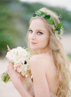 ガーデンウエディングにぴったり : 【花嫁の髪型】海外花嫁のおしゃれなブライダルヘアスタイル画像 - NAVER まとめ