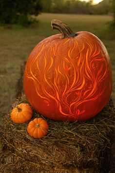 Breezy Fall Magic Pumpkin --> http://www.hgtvgardens.com/decorating/pumpkin-carving-ideas?s=9&?soc=pinterest