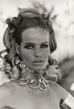 Veruschka, glamazon, 1960s/70s fashion icon, vintage fashion & beauty