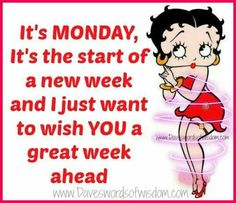 Image result for Betty Boop happy monday