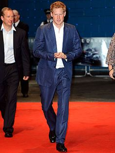Prince Harry Attends Premiere of The Dark Knight Rises in London | Prince Harry