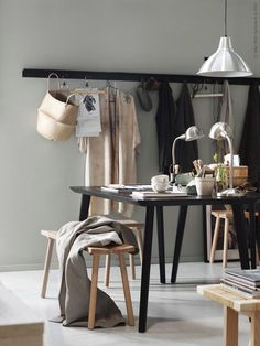 Some beautiful images from the IKEA Design Festival showcasing how to live at home with a ROOM FOR. creation, compact living, harmony and growing. Ikea Design, Ikea Lisabo, Ypperlig Ikea, Estilo Interior, Living Spaces, Living Room, Compact Living, Scandinavian Kitchen, Interior Decorating