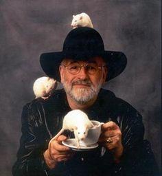 Terry Pratchett - author of Discworld series