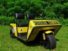 Steelers 1968 Golf cart