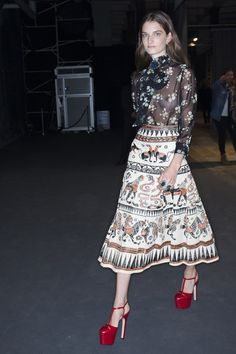 Gucci Spring 2016 Backstage