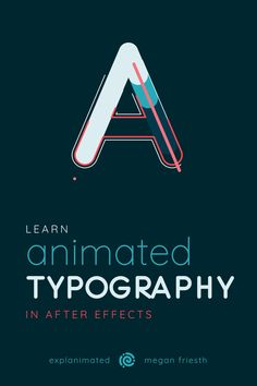 Fonts Alphabet Discover Animated Typography in After Effects Learn how to layer simple effects to create complex looking animated typography. Interaktives Design, Graphic Design Tutorials, Graphic Design Posters, Logo Design Trends, Type Posters, Graphic Design Typography, Interior Design, Typography Inspiration, Graphic Design Inspiration