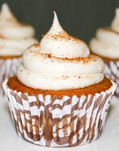 Cinnamon Eggnog & Bourbon Cupcakes - Java Cupcake