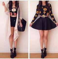 Moda falda circular!!