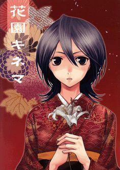 Bleach Doujinshi - Flower Garden Kinema (Renji x Rukia)