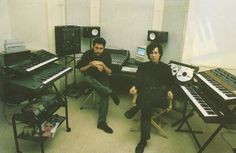 Steve Jansen and Richard Barbieri